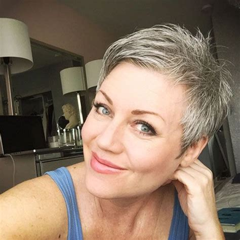 Best 25 Short Grey Haircuts Ideas On Pinterest Where