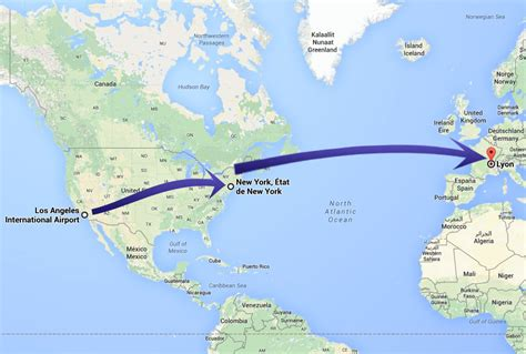 Distance Entre New York Et Los Angeles by J18 Los Angeles Gt New York Gt Lyon Voyage Aux Etats Unis