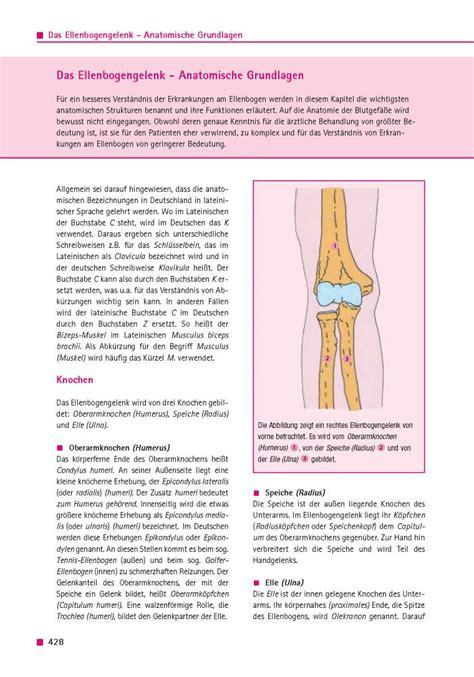 orthopaedie fuer patienten das ellenbogengelenk