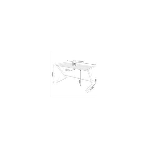 table bureau en verre table d 39 ordinateur de bureau en verre