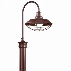 troy lighting circa 1910 outdoor old rust post light With circa lighting outdoor lanterns