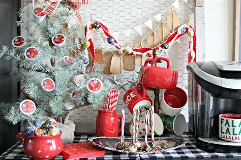 holiday cheer coffee bar