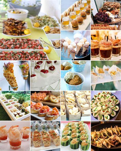Finger Food Wedding Ideas