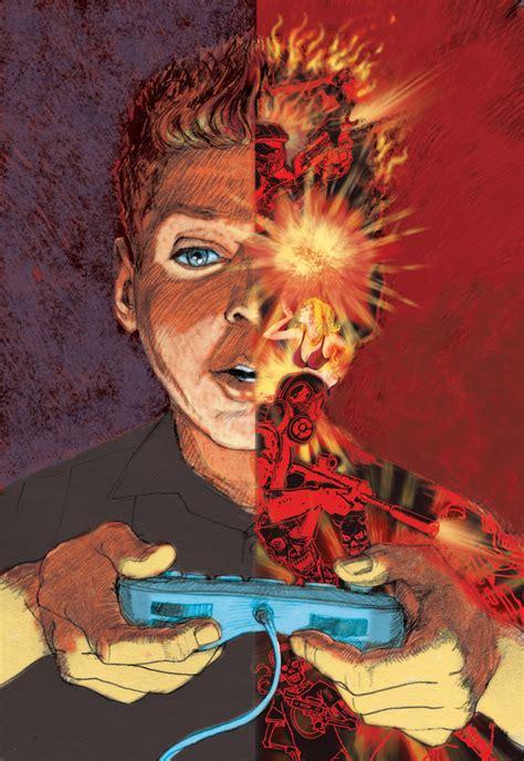violent video games lead  real violence  columbian