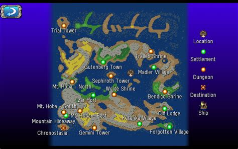 World Map - RPG Insanity