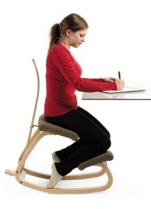 can a kneeling chair help with strength