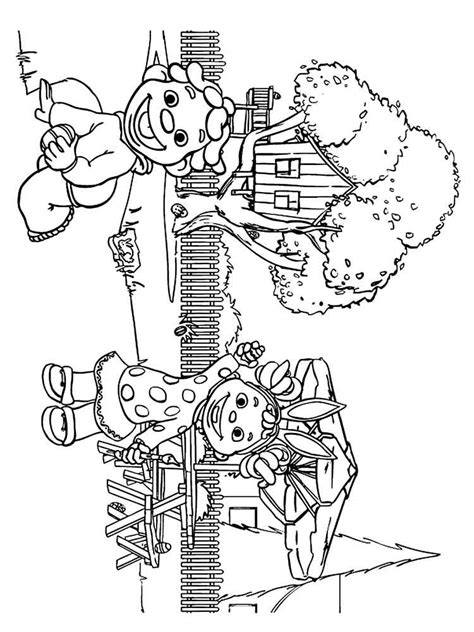 sid  science kid coloring pages  printable sid  science kid coloring pages