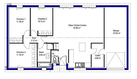 maison avec 4 chambres lina contemporaine maisons lara