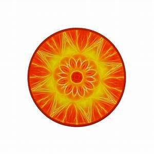 Tapis Rond Mandala : tapis de souris mandala abondance ~ Teatrodelosmanantiales.com Idées de Décoration