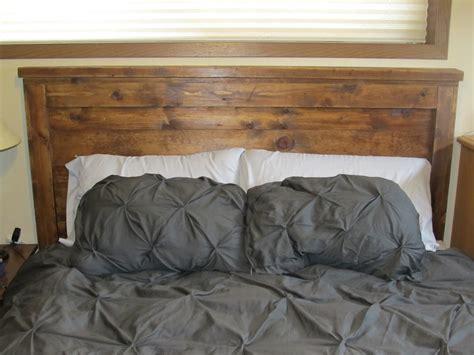 Ana White Reclaimed Wood Headboard Queen Size Diy