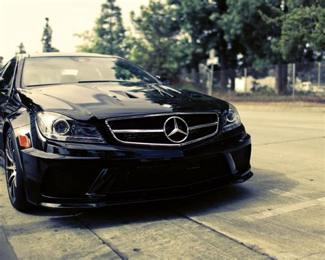 Mercedes Benz Black Car Wallpapers Hd Desktop Background