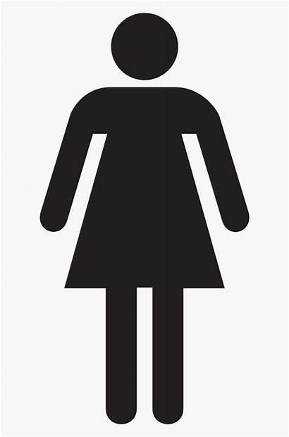 Woman Female Stick Clipart Toilet Clipartkey Bathroom