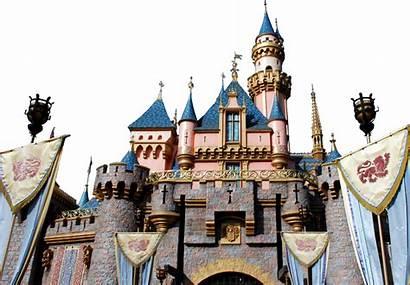 Castle Disney Sleeping Transparent Disneyland Wikipedia Psd