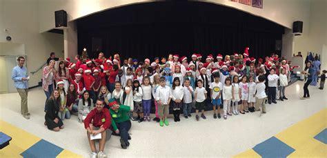 Julington Creek Elementary Students Perform Holiday Songs