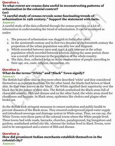 Ncert Solutions For Class 12 History Chapter 12 Colonial