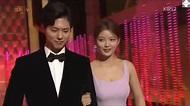 [中字] 180101 金裕貞 朴寶劍 KBS演技大賞頒獎 - YouTube