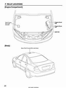 Toyota Camry 2005 Electrical Wiring Diagrams Ewd586u