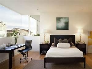 Wohn Schlafzimmer Kombinieren : 22 schlafzimmer einrichten ideen f rs g stezimmer ~ Orissabook.com Haus und Dekorationen