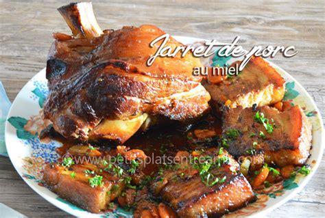 comment cuisiner le jarret de porc jarret de porc au miel petits plats entre amis