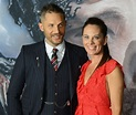 Actor Tom Hardy and writer Kelly Marcel arrive for ...