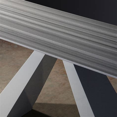 striped marble tile barcelona grey base striped stone console table robson furniture
