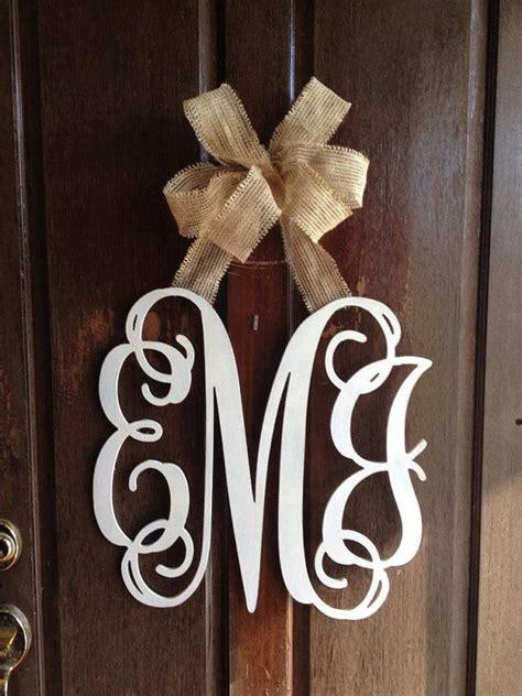 customized  initial monogram door wall hangervia etsy   home pinterest initials