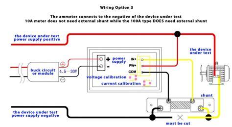 Dual Digital Display Voltmeter Ammeter