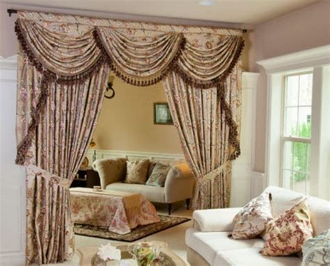 Living Room Swag Valances by Window Valance Ideas For Living Room