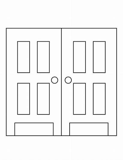 Coloring Door Designlooter Drawings