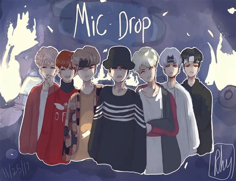 Bts Mic Drop Remix By Porkcutletbowls On Deviantart