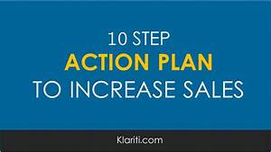 10 step action plan for increasing sales With business plan to increase sales template