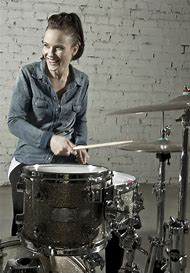 Drummer Girl Drums Female