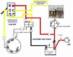 Solusi Battery  Modifikasi Lampu Motor Sistem Ac Ke Full Dc