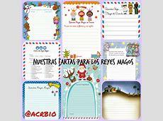 Cartas Reyes Magos Collage Imagenes Educativas
