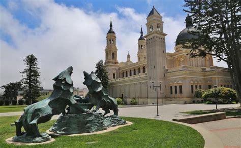 priest  leads university  san francisco congratulates