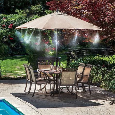 patio misting system the mail s guide to gadgets guaranteed to beat the heat