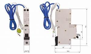 Single Module Rcbo 10ka  1p N  6 Uk Hot
