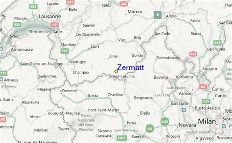 zermatt switzerland   map
