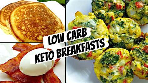 Healthy Low Carb Breakfast Ideas
