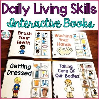 daily living interactive books life skills   ps