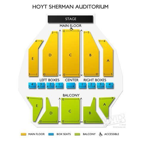 bureau front national hoyt sherman auditorium seating chart seats