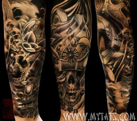 samurai skull  sleeve tattoos pinterest samurai