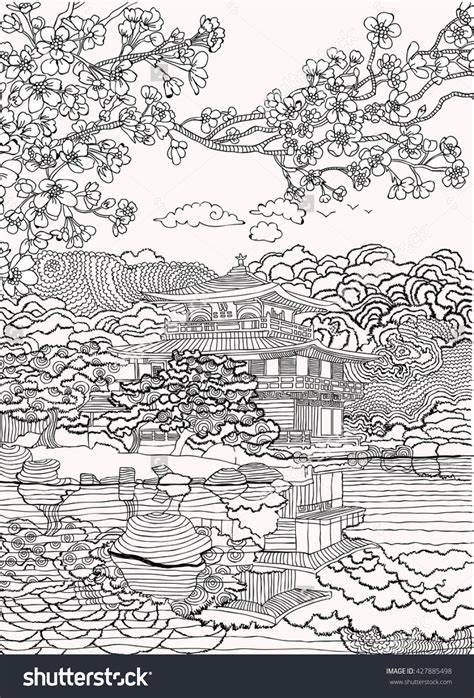 japan coloring pages shutterstock  adult coloring pages adult coloring pages