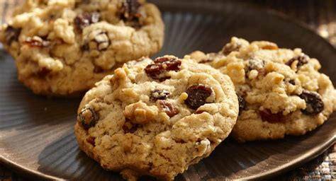 oatmeal raisin cookies bacon oatmeal and raisin cookies recipe dishmaps