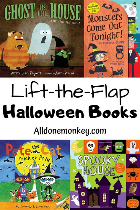 lift  flap halloween books  spooky fun  images