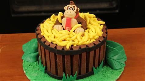 donkey kong cake nerdy nummies youtube
