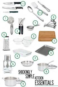 Kitchen Tools For Cutting Vegetables by The Shockingly Simple Kitchen Essentials