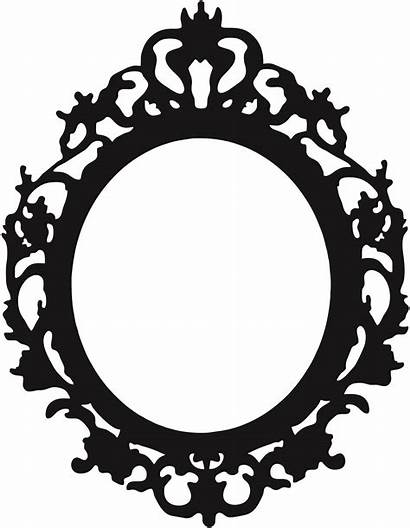 Oval Frame Clipart Ornate Baroque Antique Cliparts