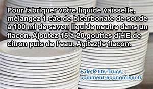 Faire Son Produit Lave Vaisselle : faire son produit vaisselle tuto faire son produit ~ Nature-et-papiers.com Idées de Décoration