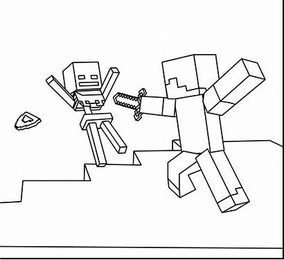 Creeper Drawing Minecraft Coloring Pages Printable Getdrawings